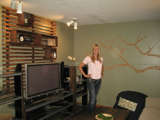 Trading Spaces Secret Crush Episode The Wall Unit I