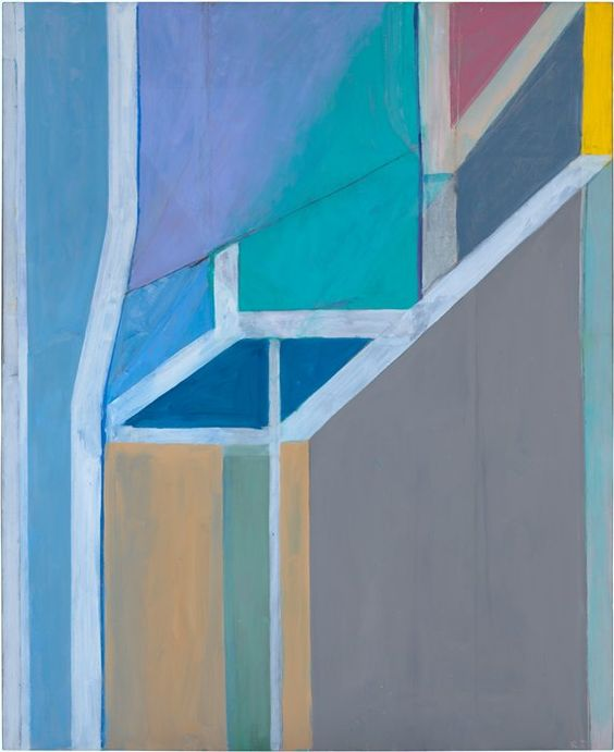 "Richard Diebenkorn, ""Ocean Park #19"" (1968)   painting   oil on canvas    Source: http://www.sfmoma.org/explore/collection/artwork/3887#ixzz1jC5UtyOE   San Francisco Museum of Modern Art"