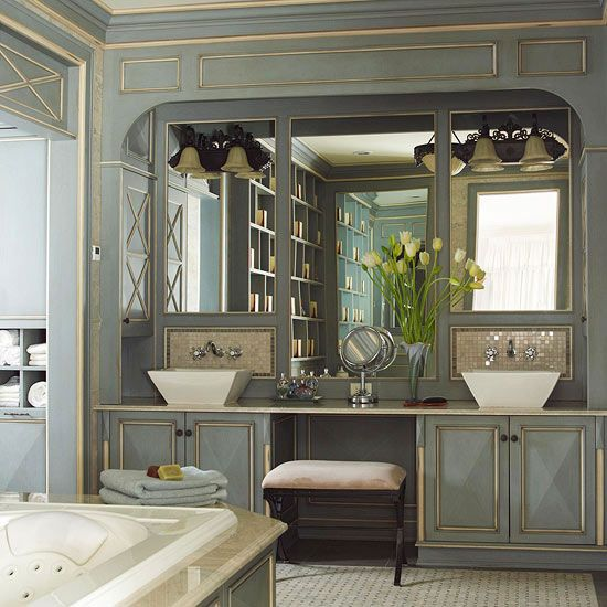 Beautiful Spacious Master Bedrooms: Vanities, Cabinets And Double Vanity On Pinterest