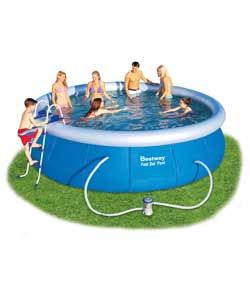 Buy Bestway 15' Fast Set Pool Set at Argos.co.uk, visit Argos.co.uk to shop online for Pools and paddling pools