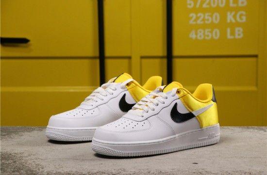 Nike Air Force 1 Low Nba Amarillo Golden Yellow Satin Bq4420 700 Nike Air Force Nike Air Nike