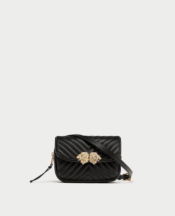 Crossbody belt bag with lion details | Belt bag, Bags
