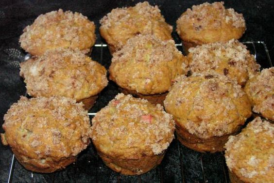 My favourite Rhubarb Muffin recipe from Simply in Season