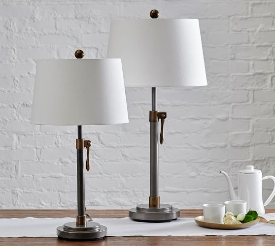 Sutter Adjustable Metal Table Lamp In 2020 Table Lamp Metal Table Lamps Adjustable Table Lamps