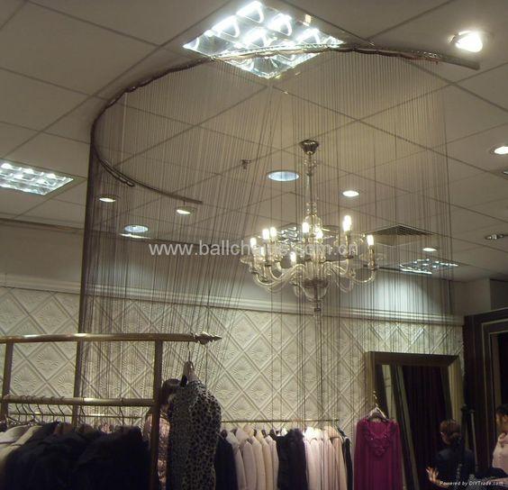 Curtains Ideas bead curtain room divider : ball chain room divider in shop-Ball chain curtain,metal beaded ...