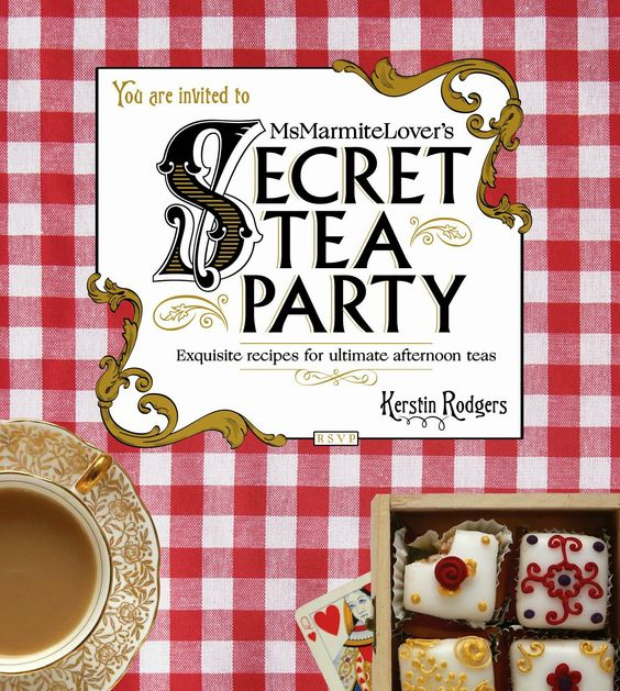 My new book just out MsMarmitelover's Secret Tea Party