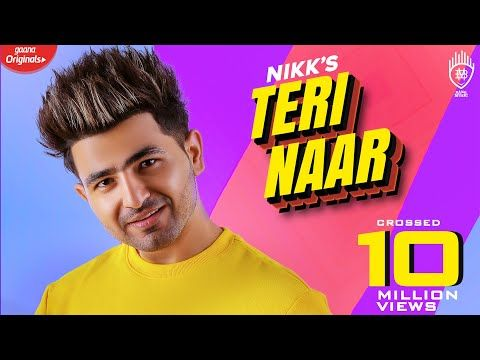 Nikk Teri Naar Avneet Kaur Rox A Official Music Video Youtube Video Musik