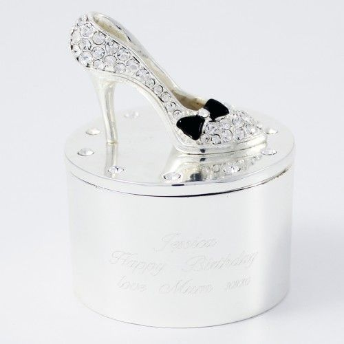 Shoe Trinket Box | Trinkets | Exclusively Personal