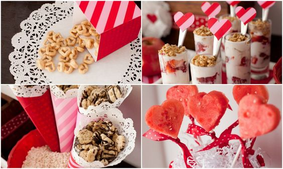 Healthy Valentine's Day Snacks - perfect for the classroom party!