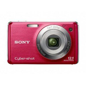 Sony Cyber-shot DSC-W230 12 MP Digital Camera with 4x Optical Zoom and Super Steady Shot Image Stabilization (Dark Red) --- http://www.pinterest.com.tocool.in/51h