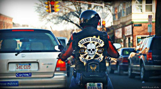 Silent Skulls Lone Bikers | Flickr - Photo Sharing!