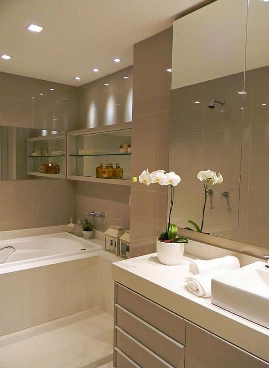Decor Nichos em banheiros  Nice, Ems e Cinza -> Nicho Banheiro Cec
