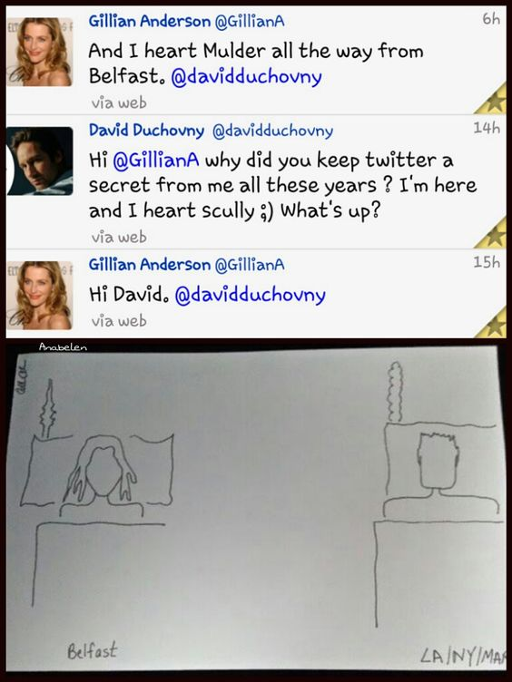 Gillian Anderson and D...