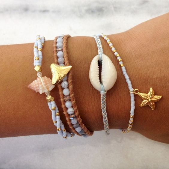 22 easy diy glitter shell crafts ideas (10)