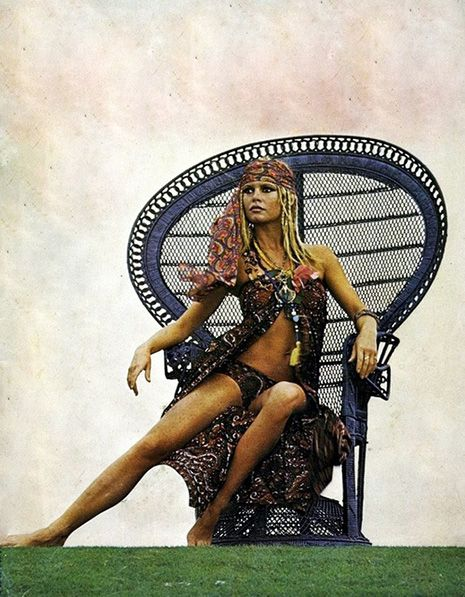 Only the coolest people get to sit in the wicker peacock chair | Dangerous Minds