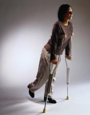 Tips for Walking on Crutches