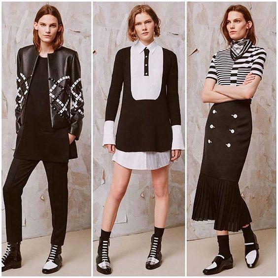 P&B é clássico mas não precisa ser boring né? Adoro as roupas e propostas de styling da @edun  Looks lindos não? #osachados #edun #styling by biaperotti