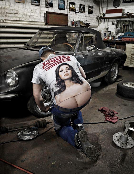 Handwerk - Workmen are sexier than you think. Photo by Markus Mueller