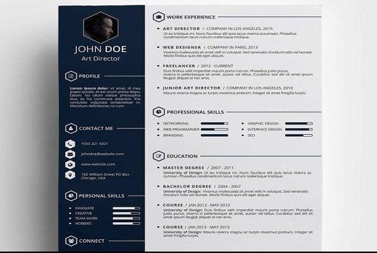Write Rewrite A Professional Resume Cv Cover Letter Linkedin