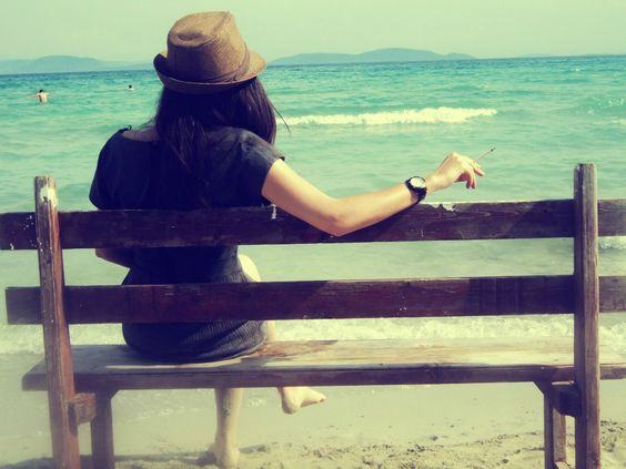 My friend, Melis Draping in Cesme