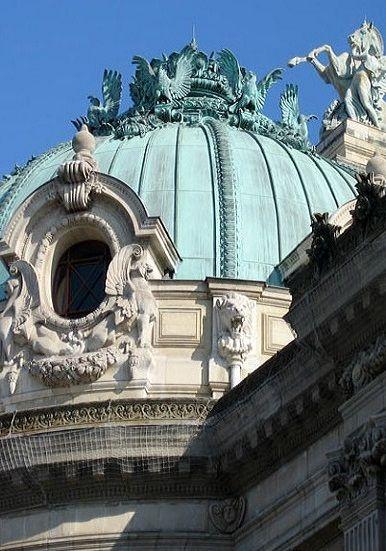 Opéra Garnier dome, Paris