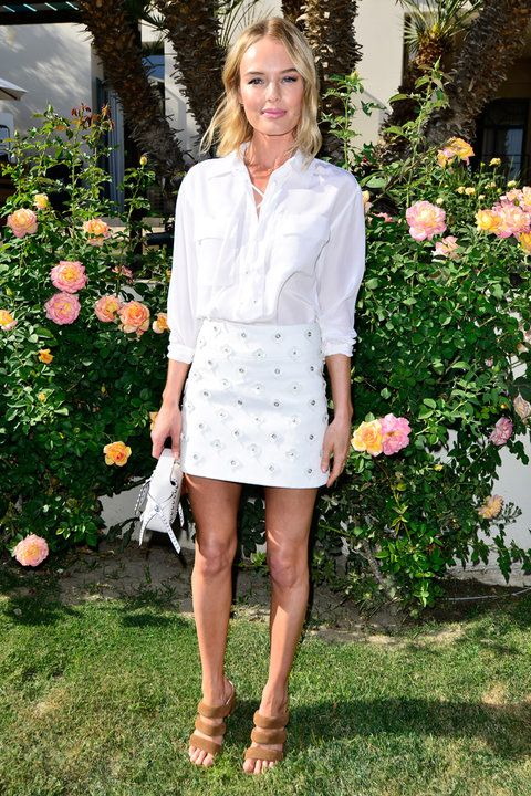 The Styling Tricks We're Stealing from Celebrities This Summer - Kate Bosworth - from InStyle.com