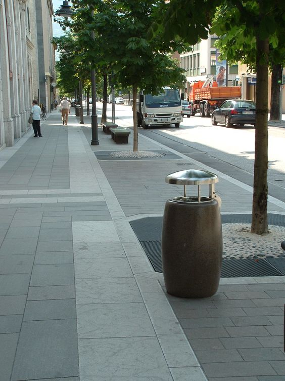 Pegaso litterbin recycling sostentability bellitalia for Bellitalia arredo urbano