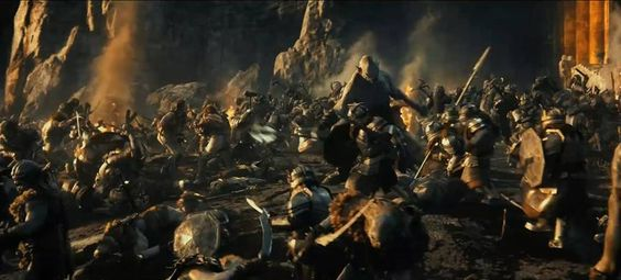 The Battle Against Azog, The Pale Orc ~ The King of Khazad-dum.