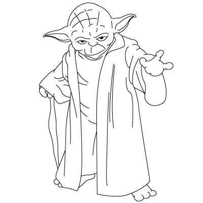 How to draw yoda fun drawing lessons for kids adults for Fun and easy pictures to draw