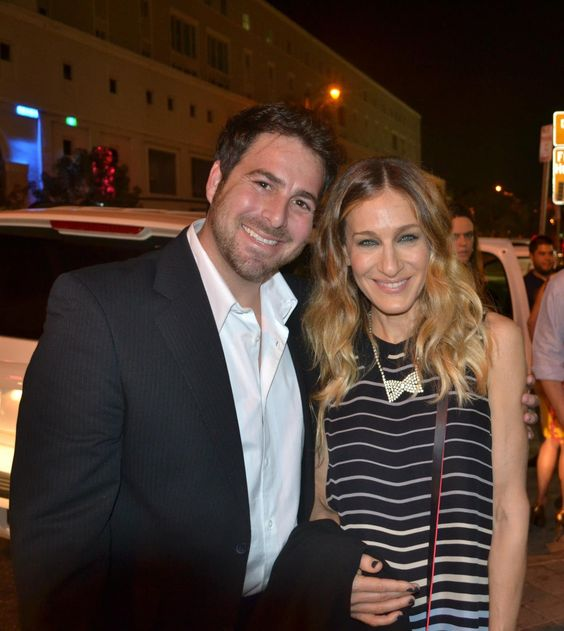 Evan Golden and Sarah Jessica Parker - Miami International Film Festival  http:///www.EvanGolden.com
