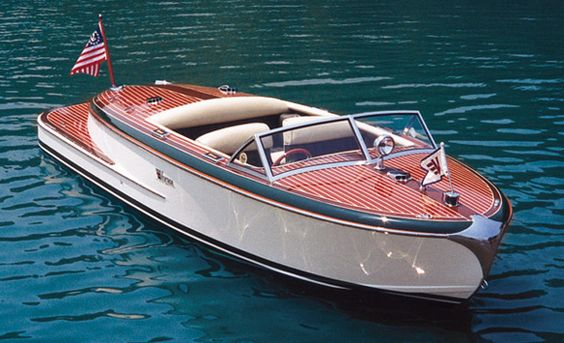 chris craft vintage boat ♥ http://luxuryworld.altervista.org