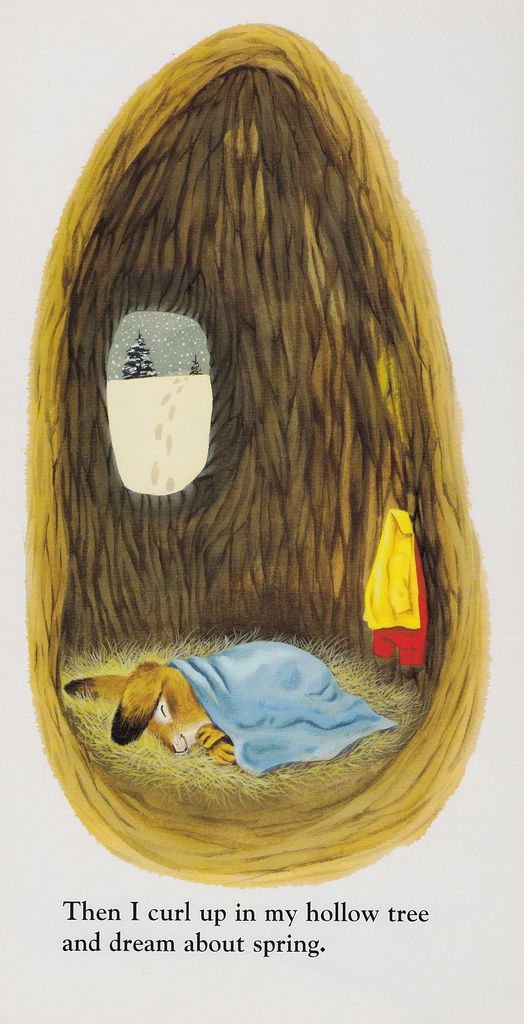 I am a Bunny, Richard Scarry, one of the greatest children's books ever.  I always wanted to have this bedroom.