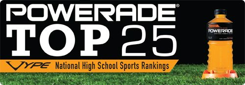 VYPE National Top 25 High School Football Rankings: 11.5.12 powered by Powerade