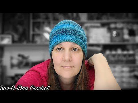 Easy Crochet Herringbone Beanie Hat O Day By Bag O Day Cal Marathon Hat 7 Bagoday Tutorial 700 Y Crochet Hats Free Pattern Easy Crochet Crochet Hat For Women