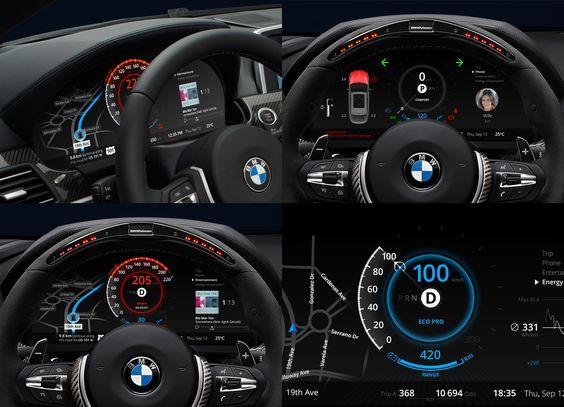 Car Dashboard UI Collection | Cars, BMW and Dashboard design