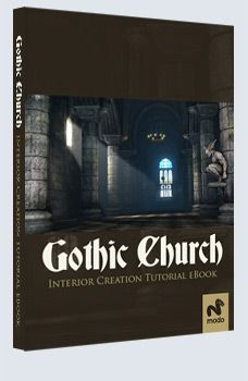 Gothic Church - modo £9.95