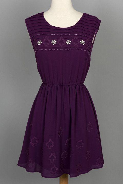 McKenna Jeweled Party Dress