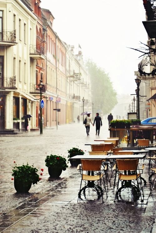 Rainy day in paris...
