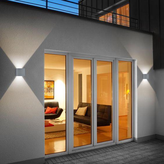 New Helestra SIRI LED Wandleuchte Lichtaustritt verstellbar laluce Licht uDesign Chur Aussenbeleuchtung Pinterest