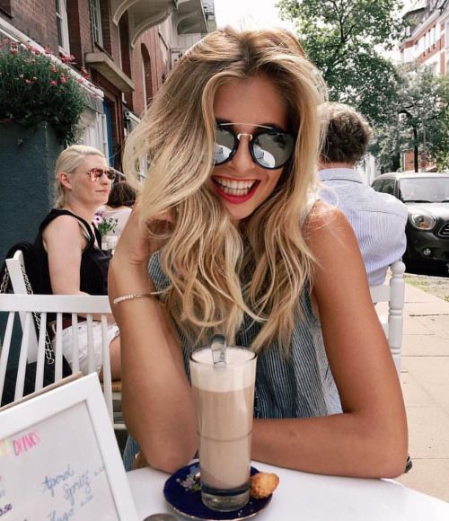 Some serious hair goals right here! This beb has some great hair! Long, think and the perfect wave!: