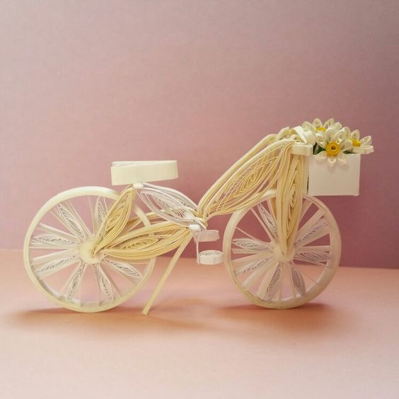 Quilling bicycle