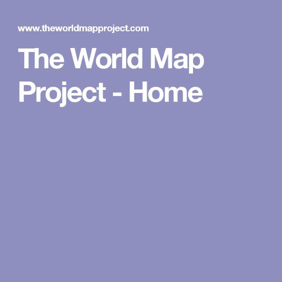 The World Map Project - Home
