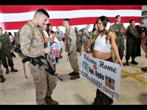 Soldiers Coming Home 2017 Most Emotional Compilations Welcome Home Signs Welcome Home Signs For Military Military Homecoming Signs