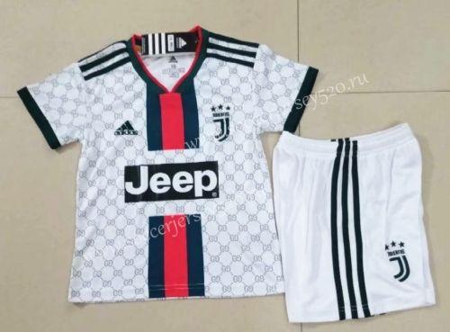 2019 20 Juventus White Classic Version Kids Youth Soccer Uniform 416 Youth Soccer Soccer Uniforms Soccer