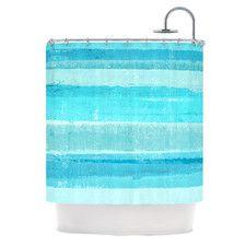 Sand Bar by CarolLynn Tice Shower Curtain