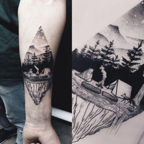 campfire tattoo - Google Search