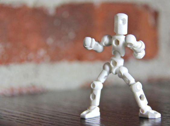 Modibot Myke Microfigure Frame By Kidmechano On Com Imagens