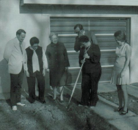 """#ThrowbackThursday: Breaking ground on the """"new"""" shelter back in the 1950s!"""