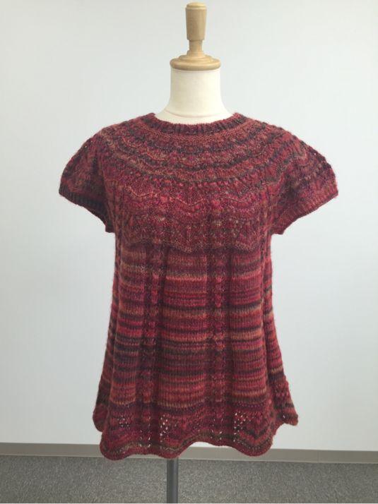 手編みのセーター