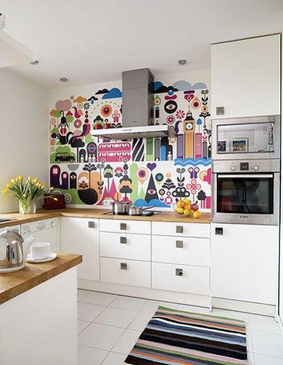 cozinha alegre